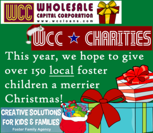 WCC Charities Foster Kids Christmas